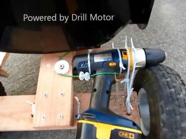 Что можно сделать из двигателя шуруповерта