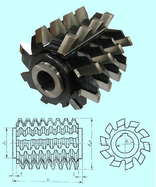 Гост 15127-83 фрезы червячные цельные для нарезания зубьев звездочек к приводным роликовым и втулочным цепям. технические условия (с изменениями n 1, 2)
