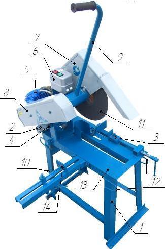 Отрезной станок: обзор и реализация самодельных решений по металлу и дереву, конструкции, чертежи, нюансы
