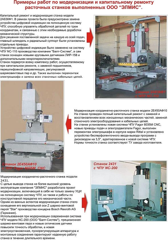 Координатно-расточные станки с чпу: технические характеристики