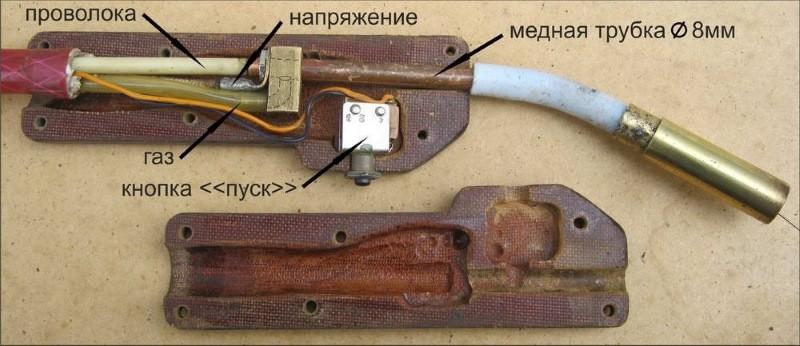 Как работать сварочным полуавтоматом   mrmetall.ru