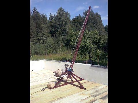Подробная инструкция как сделать самодельный кран для строительства дома