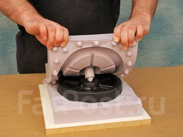 Изготовление силиконовых форм на заказ, литье пластика в силикон   технический центр «структура»