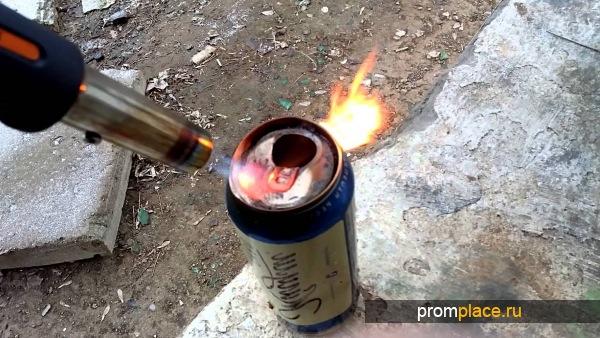 Пайка алюминия газовой горелкой