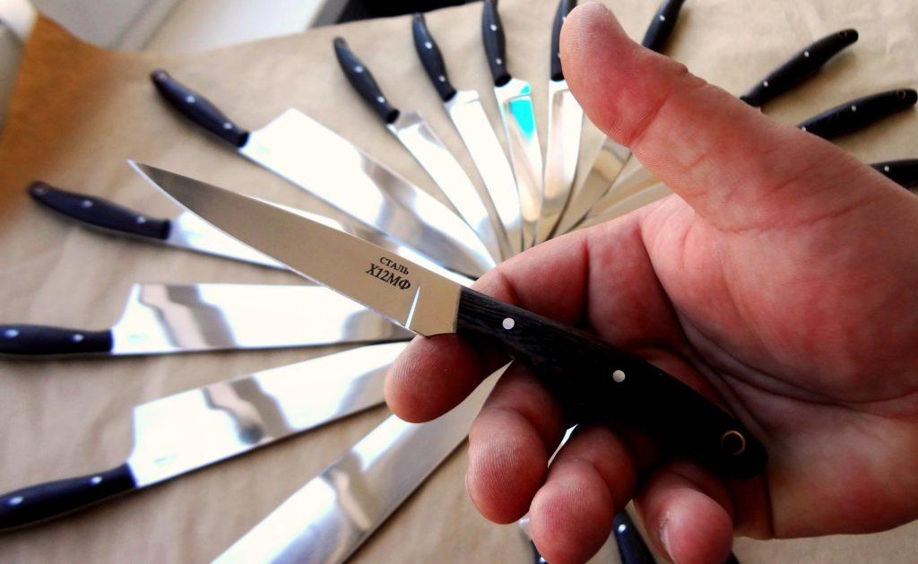 Плюсы и минусы стали х12мф для ножей, ключевые характеристики