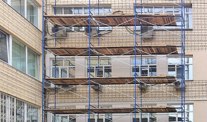 Леса строительные размеры. комплектация строительных лесов.