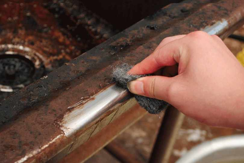 Как из железной окалины получить железо - морской флот