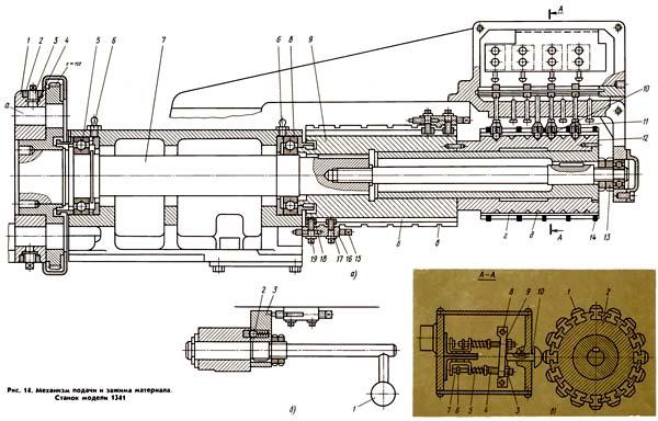 1341, токарно-револьверный станок, г. бердичев. паспорт, руководство по обслуживанию, 1976г. - токарные станки