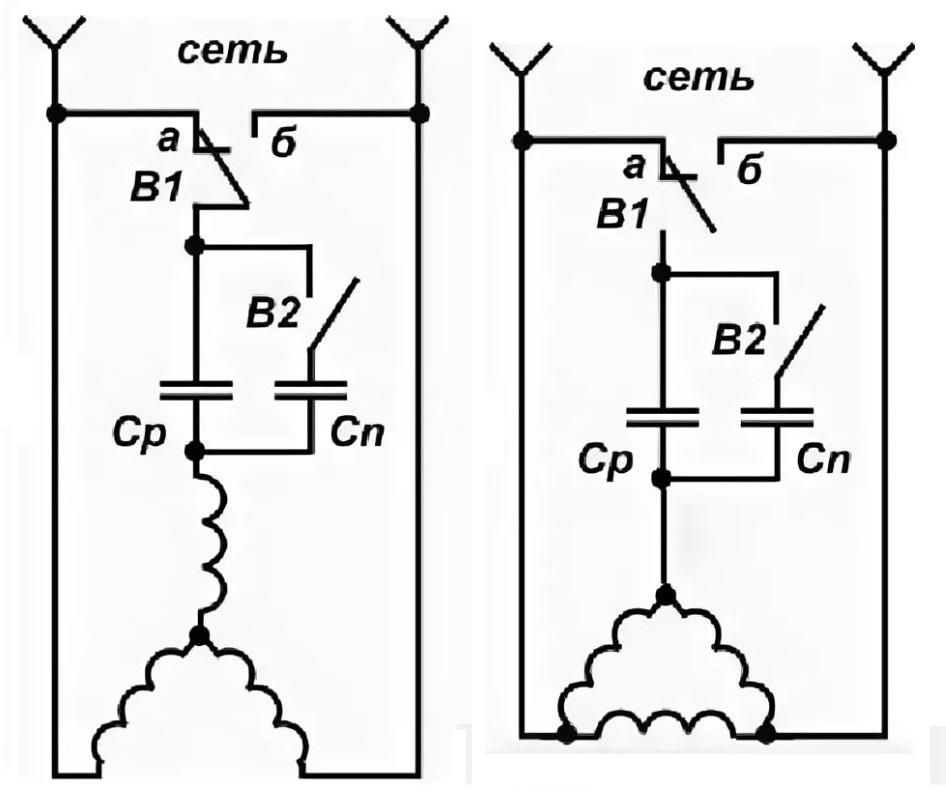 Калькулятор расчета емкости рабочего и пускового конденсаторов - все очень просто