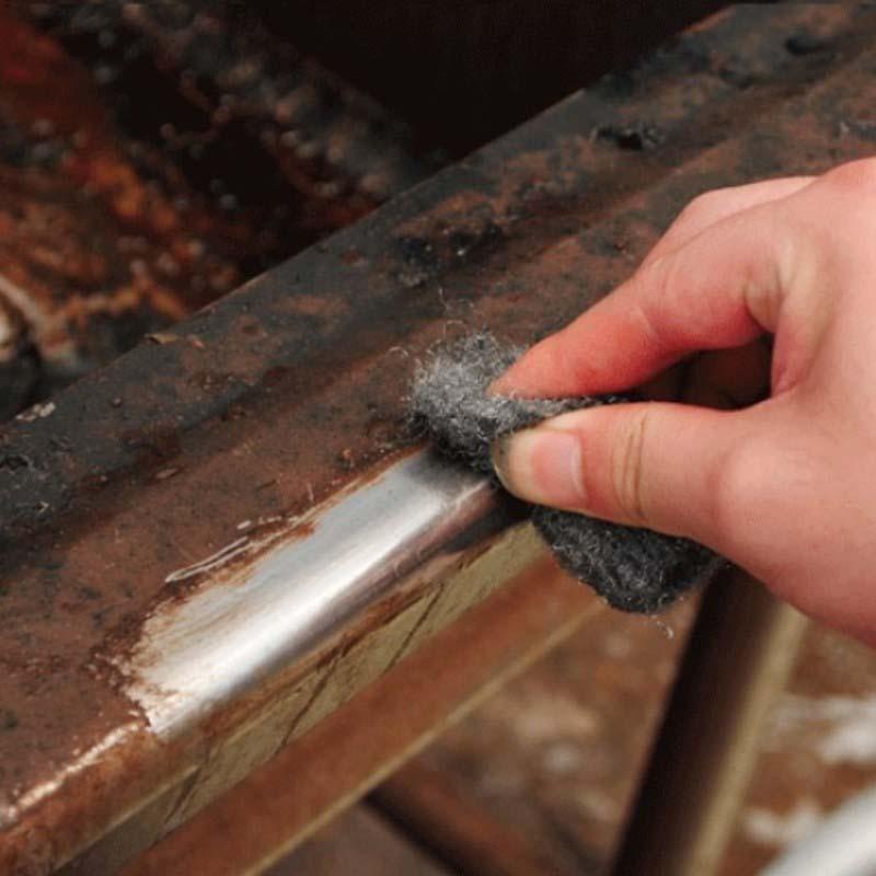 Чем можно убрать ржавчину с металла?