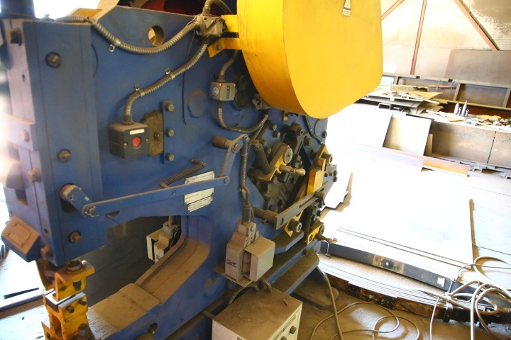 Пресс-ножницы для металлолома
