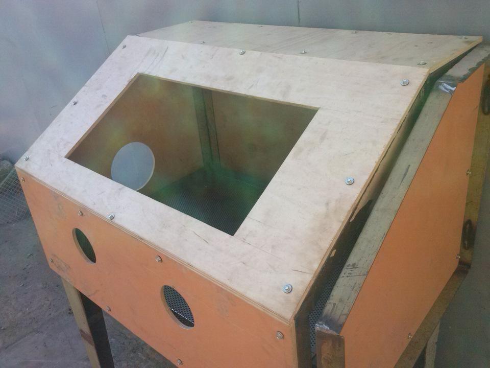 Как сделать простой пескоструйный аппарат своими руками