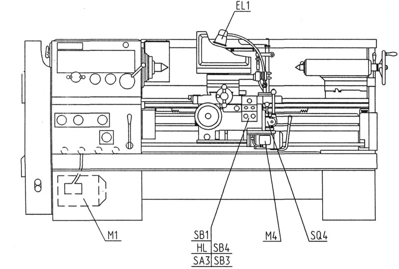Токарно-винторезный станок гс526у: технические характеристики, паспорт