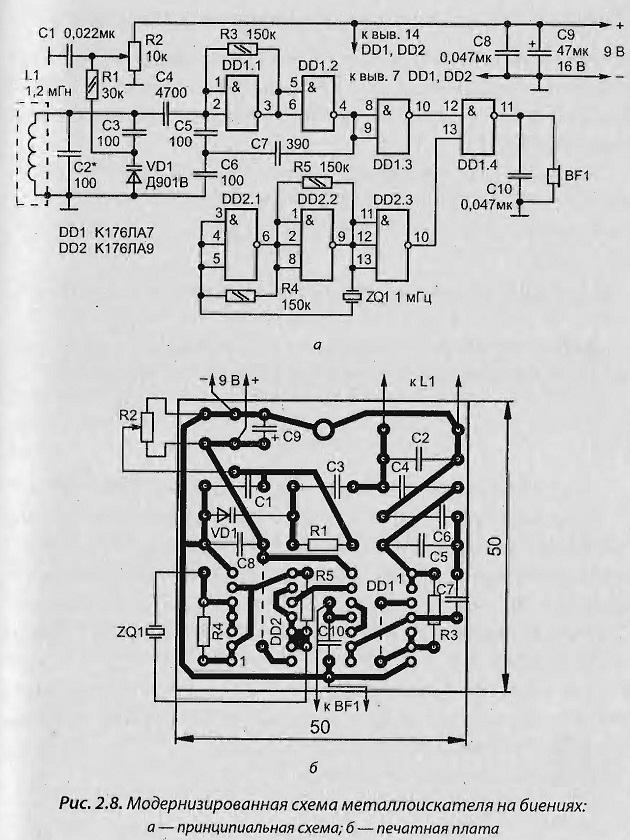 Как сделать металлоискатель своими руками: подробные инструкции и схемы