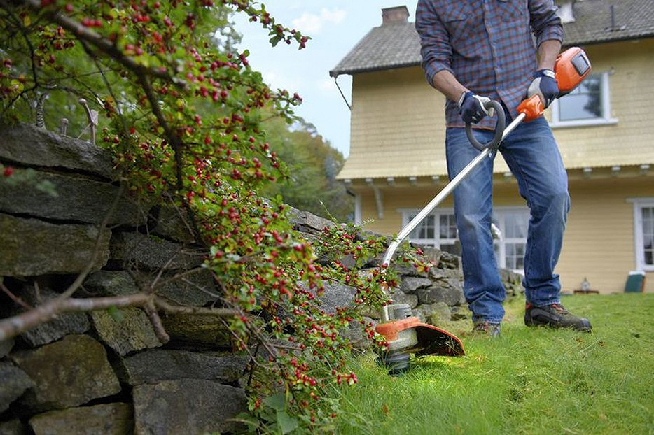 Как правильно косить траву триммером с леской