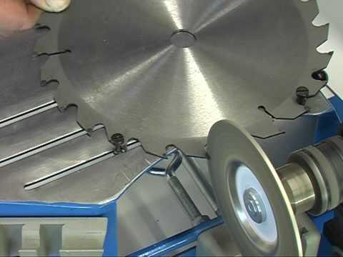 Заточка дисковой пилы как правильно затачивать. как наточить пильный диск с победитовым напайками