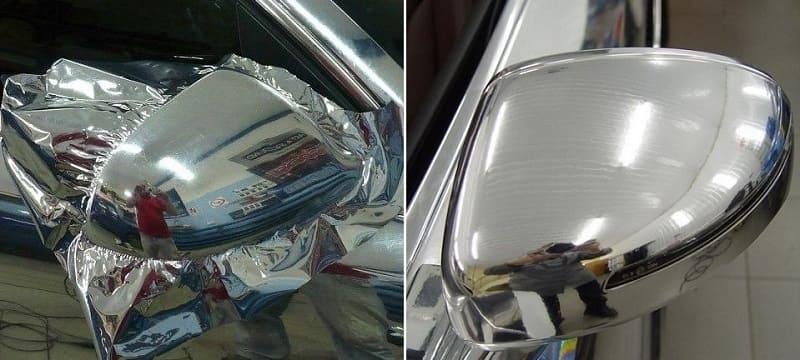 Как восстановить хромированные детали автомобиля: чем почистить от налета и ржавчины