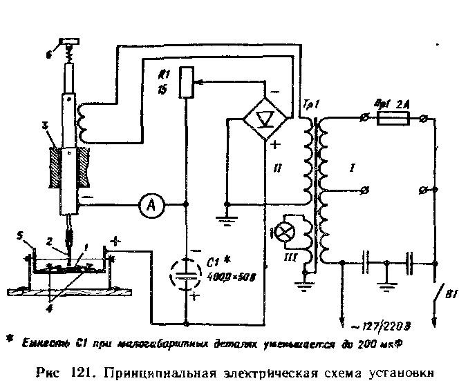Малогабаритный электроискровой станок своими руками