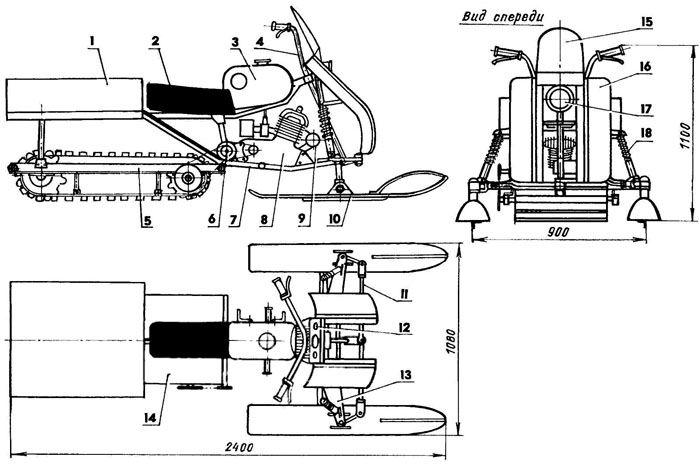 Как сделать самодельный мотовелик с двигателем от бензопилы