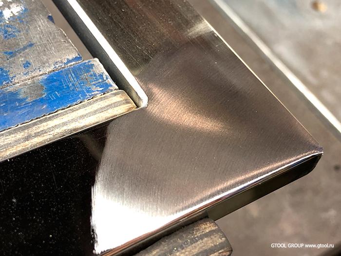 Как отполировать сталь до зеркального блеска? - металлы и металлообработка