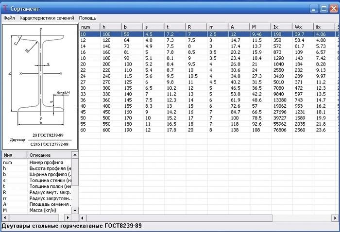 Теоретический вес — таблицы веса металлопроката