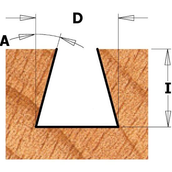 Ласточкин хвост чертеж размеры