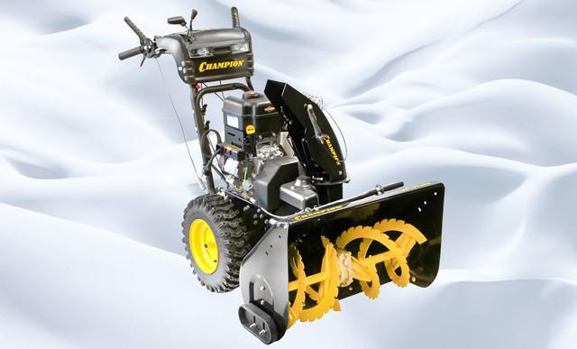 Снегоуборщик champion st656 – детальный обзор модели