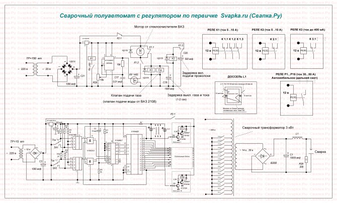 Сварочный полуавтомат своими руками: схема самодельного аппарата из инвертора или трансформатора – виды сварочных аппаратов на svarka.guru