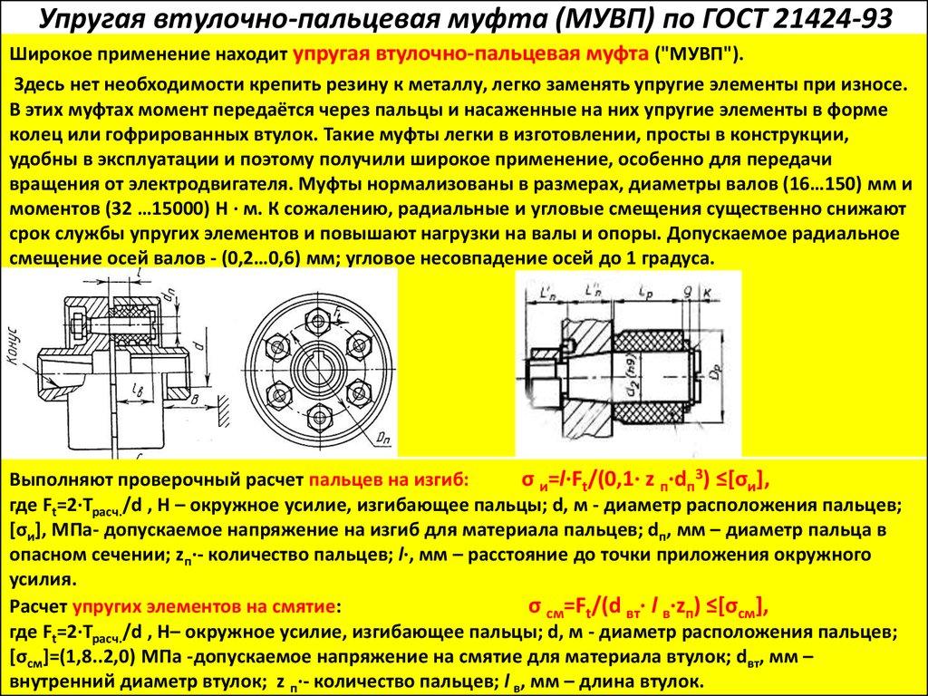 Муфты для электродвигателей, их классификация, назначение