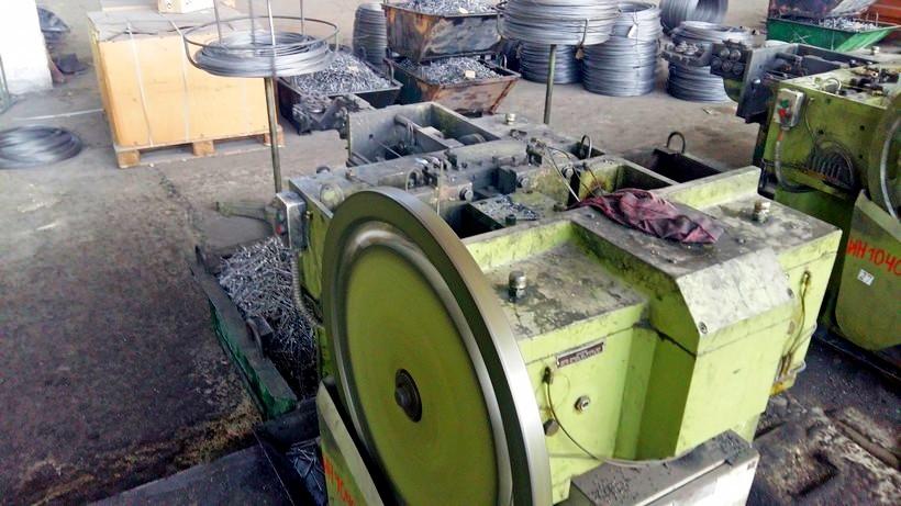 Станки для производства гвоздей: обзор станков для изготовления гвоздей и саморезов, выбор гвоздильных автоматов