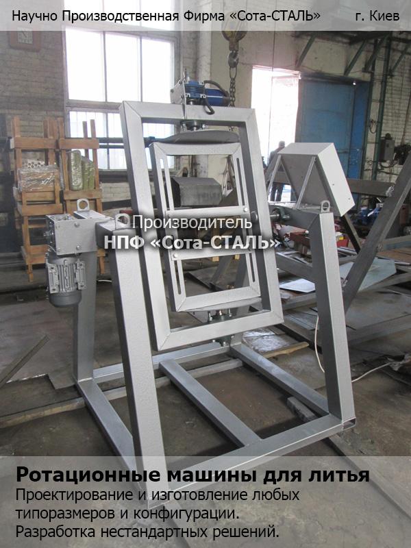 Ротационное литье станок ротационного литья полиуретана | строитель промышленник
