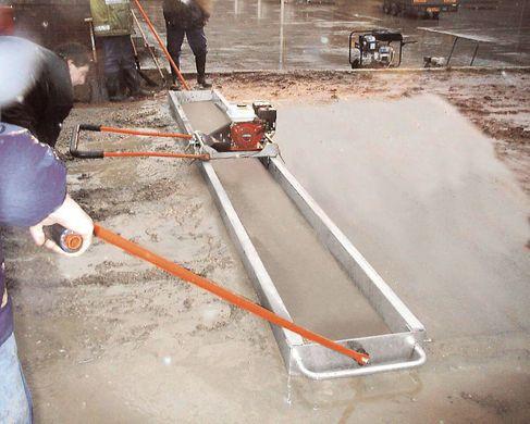 Виброрейка для бетона — назначение, конструкция, самостоятельное изготовление
