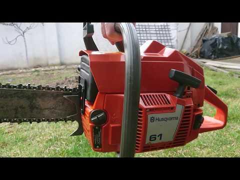 Хускварна 61 - профессиональная бензопила на не полный рабочий день