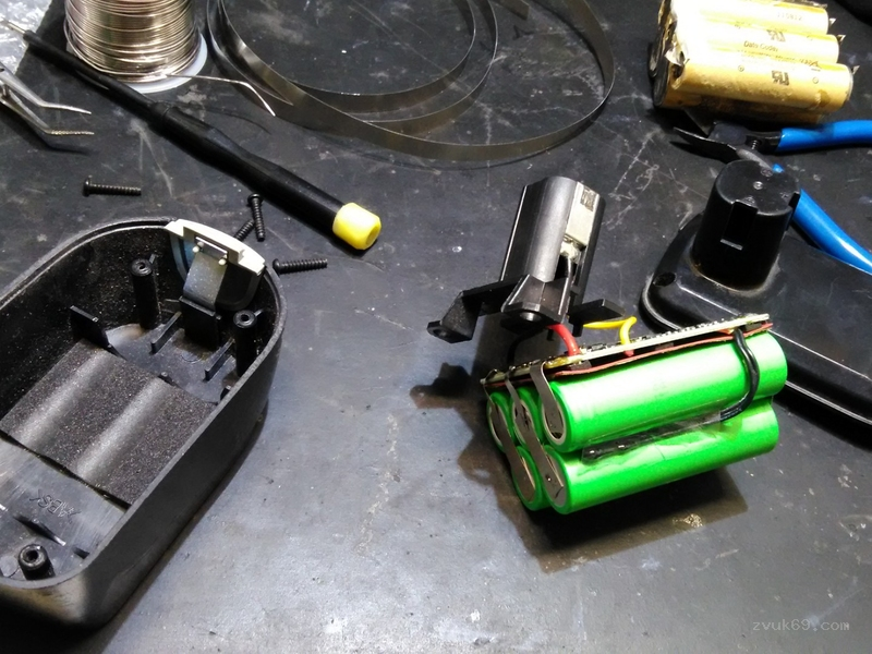 Ремонт аккумуляторов для шуруповертов в москве