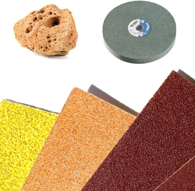 Абразивные шлифовальные материалы: основные виды и методы обработки абразивов