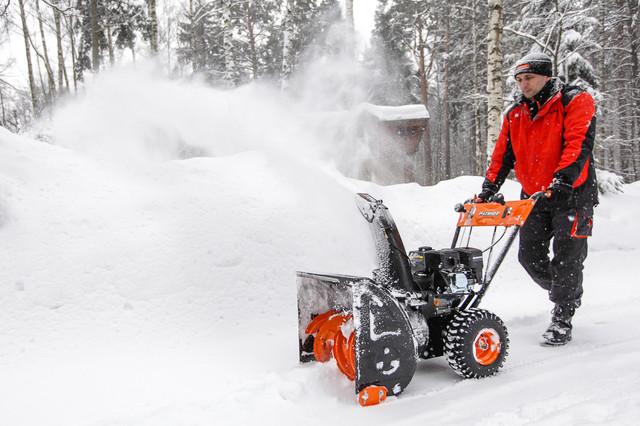 Выбор снегоуборщика, правильный подход