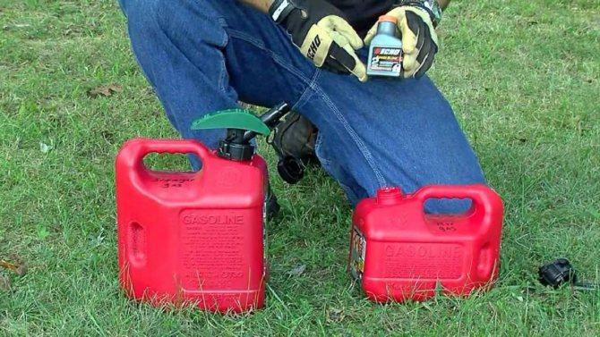 Масло для бензопилы – как разбавить с бензином и какое применять для смазки цепи?