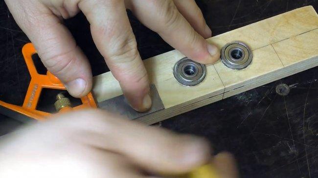 Кондуктор для сверления отверстий под шканты и конфирматы | проинструмент
