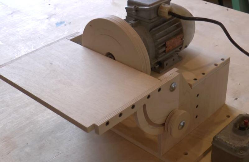 Шлифовальные станки по дереву своими руками: виды конструкций, работа с самодельным комбинированным станком