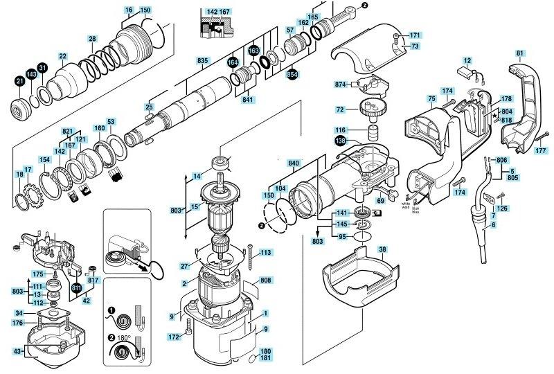 Патроны для перфораторов какими они бывают и как их ремонтировать