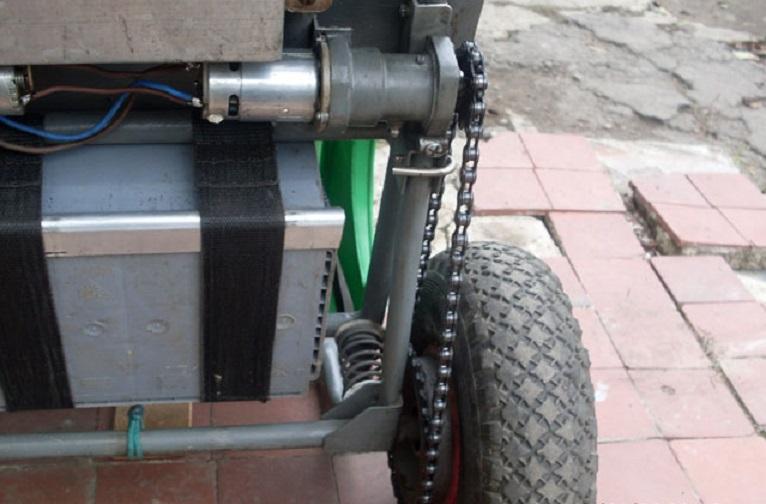 Электровелосипед, собранный своими руками из шуруповерта
