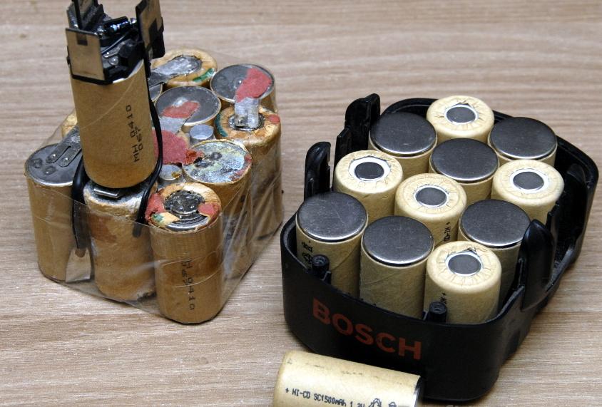 Замена аккумуляторной батареи в шуруповерте и диагностика