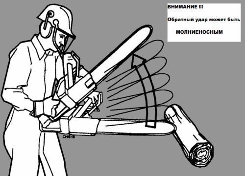 Как пользоваться бензопилой? техника безопасности, подготовка