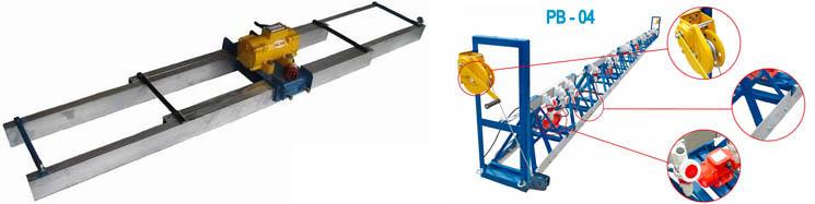 Виброрейка для укладки бетона - как выбрать или сделать своими руками