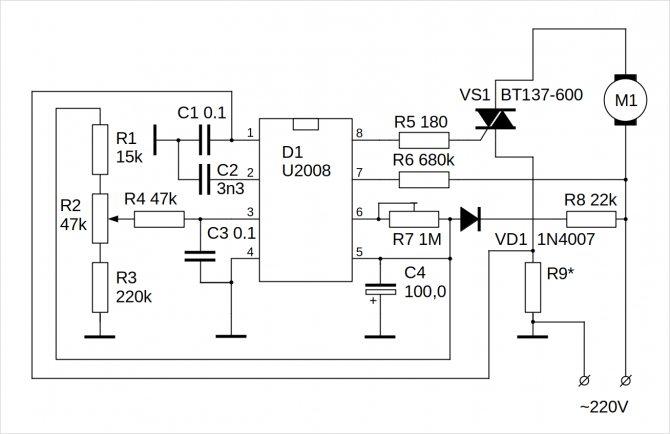 Плавный пуск для электроинструмента своими руками на примере болгарки: 8 шагов