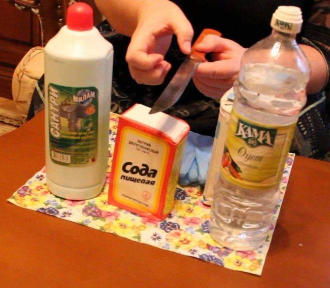 Как очистить инструмент от ржавчины в домашних условиях: как убрать подручными средствами, удалить пятна бытовой химией?