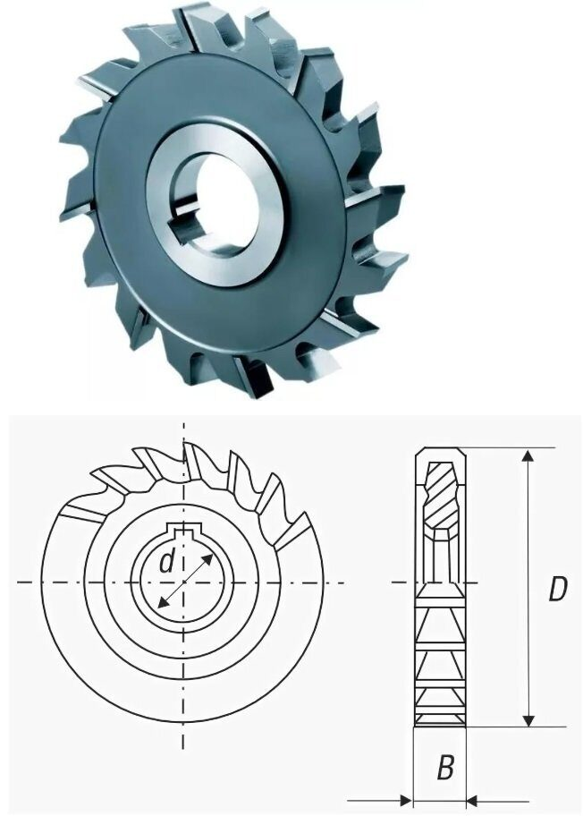 Гост 3964-69: фрезы дисковые пазовые. основные размеры
