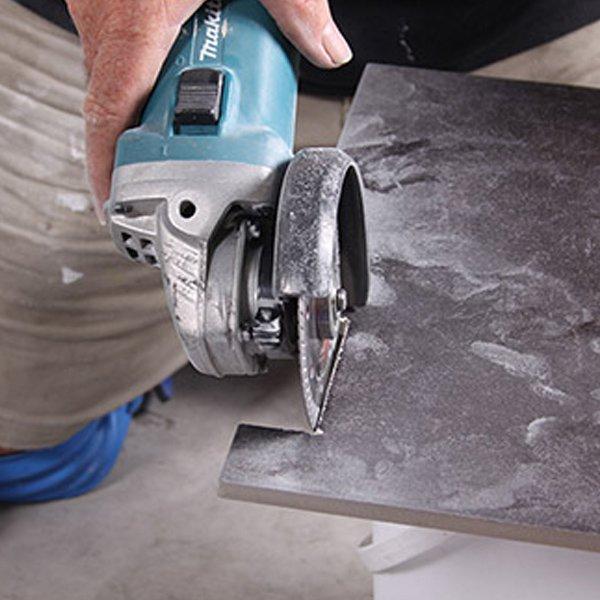 Как правильно отрезать керамическую плитку болгаркой без сколов