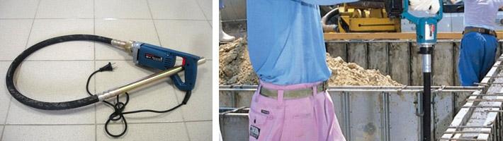 Вибратор для бетона своими руками из перфоратора - металлы, оборудование, инструкции