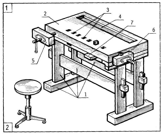 Как сделать слесарный верстак своими руками?